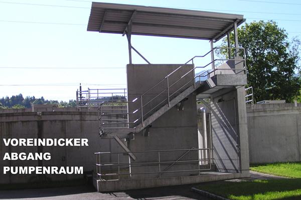Voreindicker-Pumpenraum